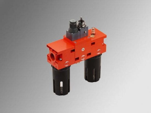 New deal - Филтър + Регулатор със стоп вентил V3V + Омаслител