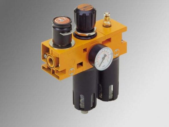 New deal - V3V Стоп вентил + Филтър-регулатор + Омаслител