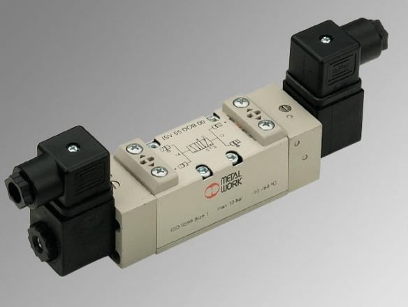 ISO 5599/1 пневматични и електропневматични разпределители, серия IPV - ISV