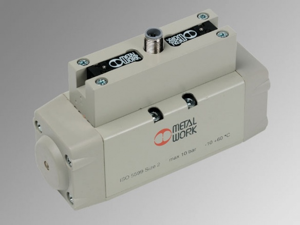 ISO 5599/1 електропневматични  разпределители, серия ISV - М12-CONNECTOR
